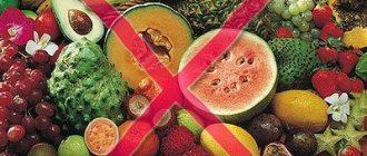 frukt allergiya