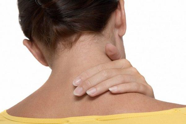 Шишка на шее сзади от остеохондроза как убрать