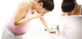 Тошнота на поздних сроках беременности и перед родами